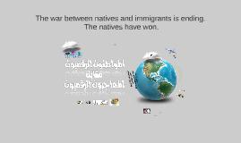 السكان الأصليينvsالمهاجرين