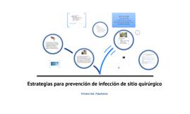Estrategias para la prevención de sitio quirúrgico