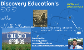 Discovery Education for Colorado Springs, CO