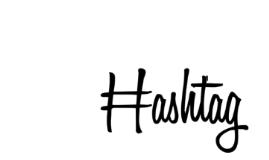 Copy of Hashtag