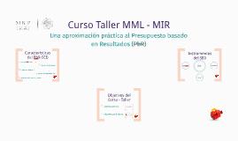 Curso Taller MML-MIR