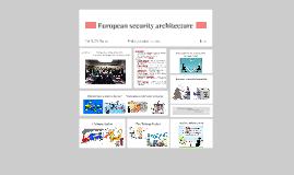 European security architecture