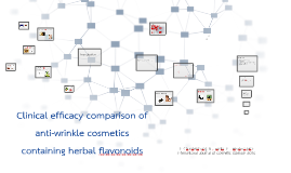 Clinical efficacy comparison of anti-wrinkle cosmetics conta