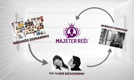 Majster Reči - Launch video 1