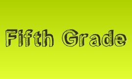 Marshall Elementary School Fifth Grade