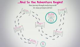 So the Adventure Begins!