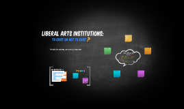 Copy of Liberal Arts Intsitutions
