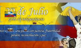 20 DE JULIO INDEPENDENCIA