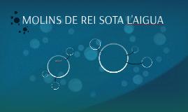 MOLINS DE REI SOTA L'AIGUA