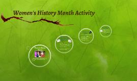 Women in STEM Activity