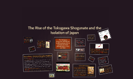 david s change and transformation character development in tokugawa shogunate