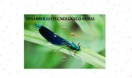 DESARROLLO TECNOLOGICO RURAL
