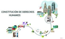 CONSTITUCIÓN DE DERECHOS