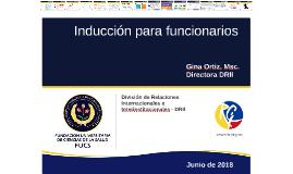 Inducción funcionarios 2016-2