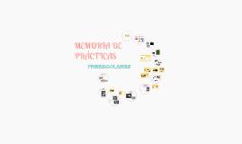 Memoria de Prácticas-Preescolares-Enfermería 2º curso