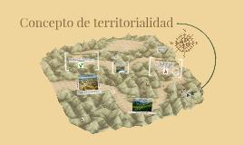 concepto de territorialidad