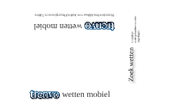 Trenvo wetten mobiel voor Android