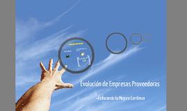 Copy of EVOLUCIÓN DE PROVEDORES