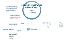 DOCUMENTOS CONTABLES Y NO CONTABLES                                                       CONCEPTOS Y CARACTERISTICAS