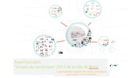 appel à projet 2017