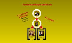 système politique québécois