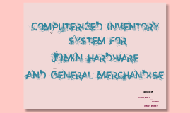 sales and inventory system on hardware essay System: barcode and inventory management information management system essay conducted research is about the company's sales monitoring and inventory system.