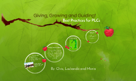 Giving, Getting and Growing!