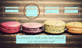 A reward in itself is the best possible reward!
