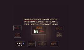 COMPARACION DEL AMOR FRATERNAL