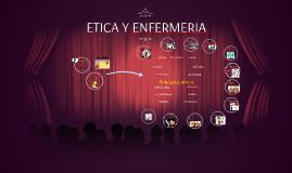 ETICA Y ENFERMERIA