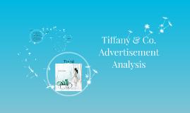 Copy of Tiffany & Co. Advertizement Analysis