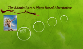 The Adonis Bar: A Plant Based Alternative