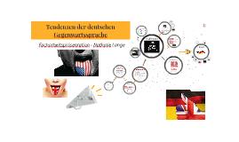 Tendenze der deutschen Gegenwartssprache