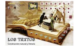 LOS TEXTOS Y LAS FIGURAS LITERARIAS