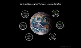 La Constitución y los Tratados Internacionales.