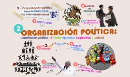 Copia de 3. Organización política: actores e instituciones