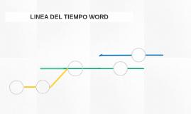 LINEA DEL TIEMPO WORD