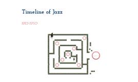 Timeline of Jazz