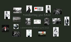RMIT Black & White Presentation