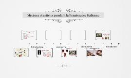 Copy of Mécènes et artistes pendant la Renaissance Italienne