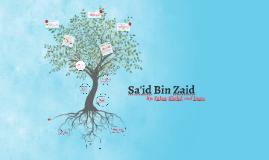 Sa'id Bin Zaid