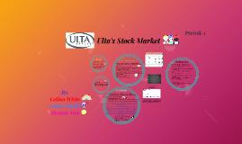Ulta's Stock Market