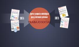 Aportes y propuestas metodológicas para la intervención prof