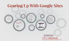 Gearing Up With Google Sites