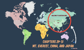 World Geo Ch. 29-31: Eastern Asia