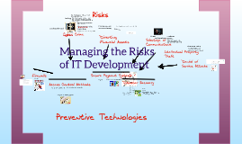 Managing Risks that Accompany Developments in IT
