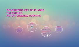 DESCRIPCION DE LOS PLANES SALARIALES