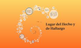 Copy of Lugar del Hecho y de Hallazgo
