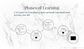 Phases of Learning