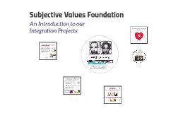 Subjective Values Foundation